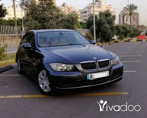 BMW in Beirut City - Bmw 320i 2006 meshye 105000km 3keys 4cyl revziont sherke 1owner super 5arka nb:03653677