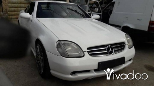 Mercedes-Benz in Abdul Latif El Bissar - mercedes slk white