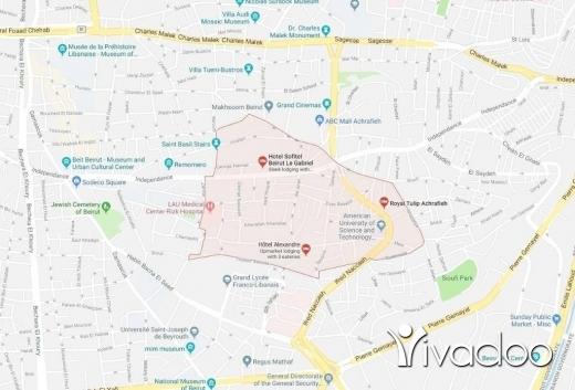 Land in Achrafieh - 348 m2 land for sale in Achrafieh