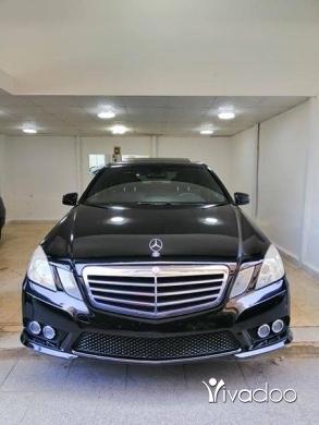 Mercedes-Benz in Beirut City - E350 MODEL 2010 CLEAN CAR FAX LOOK AMG BLACK BLACK سياره ا** كثير نظيفه وخارقه السعر نهائي