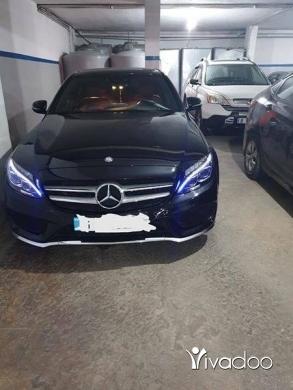 Mercedes-Benz in Bsalim - Mercedes C200 2016 like newFull look amgSpecial