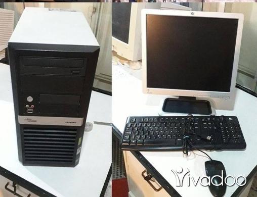 اجهزة كومبيوتر محمولة ذات سطح مكتب ومحطات عمل في نبطيه - كمبيوتر مكتبي كامل كور ديو