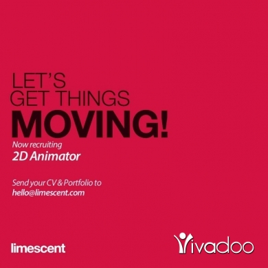 Animator in Beirut City - Do you have the power to move things?!