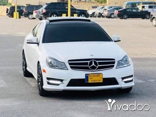 Mercedes-Benz in Smar Jbeil - mercedes coupe: c250 2013 low milage full options for inf: 71010821