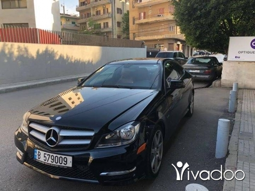 Mercedes-Benz in Beirut City - Mercedes C250 Coupee! Very clean