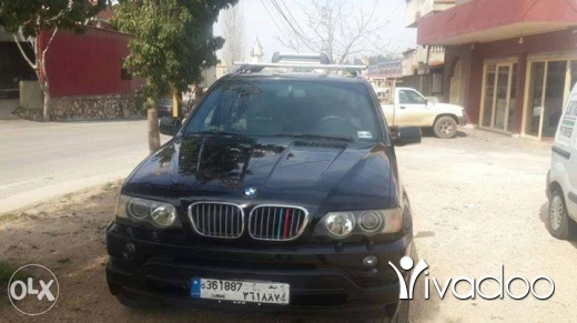 BMW in Nabatyeh - x5 2001 4.4i 5are2 nadafe