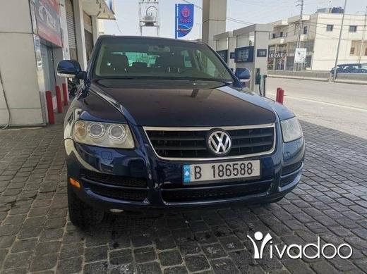 Volkswagen in Zahleh - Touareg v6 2005 for sale