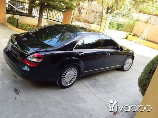 Mercedes-Benz in Minieh - Mercedes S550 2007
