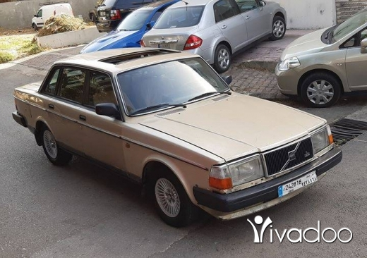 Volvo in Beirut City - Volvo 240 1998