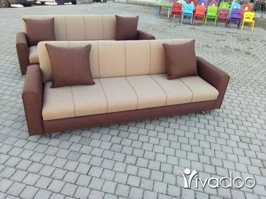 Sofa Beds & Futons in Tripoli - صوفا تخت + صندوق ب110$طرابلس اتوستراد الزاهرية مقابل مجمع العزم