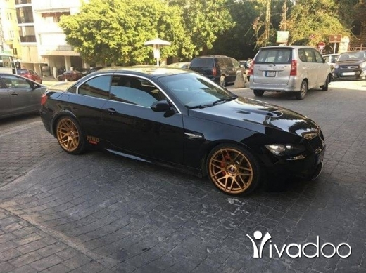 BMW in Beirut City - Bmw e93 335i original m3 body kit inside & outside many upgrades
