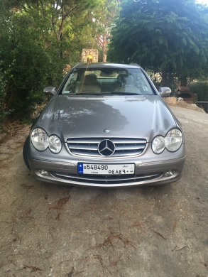 Mercedes-Benz in Antilias - Clk coupe 320
