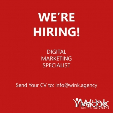 Digital in Beirut City - Open vacancy for Digital Marketing Specialist.