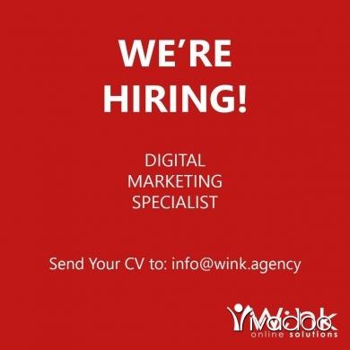 Digital in Beirut City - Open vacancy for Digital Marketing Specialist.
