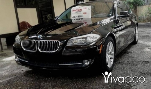 BMW in Sin el-Fil - 528I black 2012 4cyl T Navigation