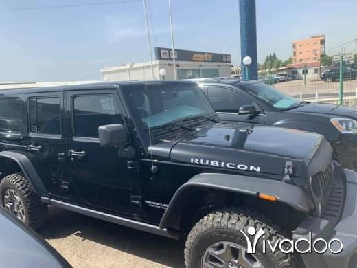 Jeep in Beirut City - Wrangler Rubicon 2014