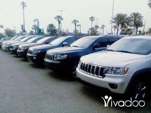 Jeep dans Port de Beyrouth - GRAND CHERKEE 2014 V6