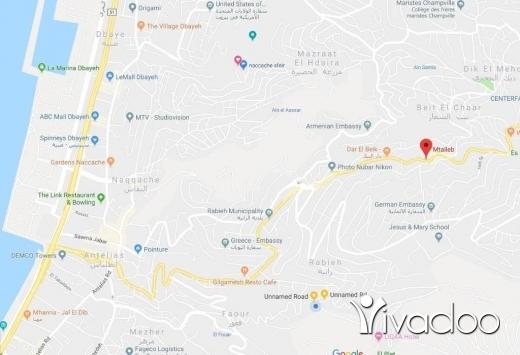 Land in Achrafieh -  692 m2 land for sale in Beit El Chaar