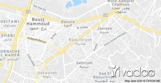 Land in Jdeideh - 3077m2 land for sale in bauchrieh