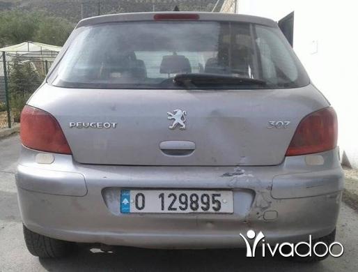 Peugeot in Jdeidet Marjeyoun - بيجو 307/2005 اوتوماتيك موتير فيتاس حديد نظيففة.بوية الشركة.امكانية الفحص بالكامل.70455414
