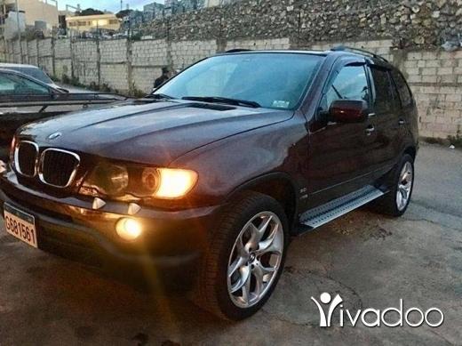 BMW in Beirut City - For sale BMW X5 3.0 full option sport package screen DVD navigation parking sensor jant [informations masquées]
