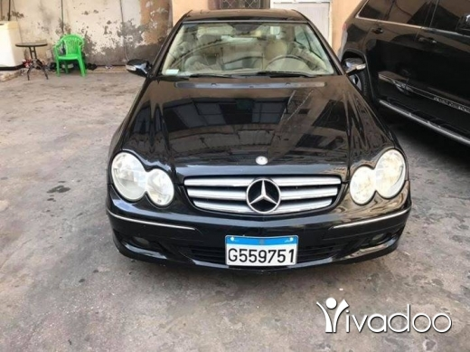 Mercedes-Benz in Beirut City - Mercedes CLK 350-2006