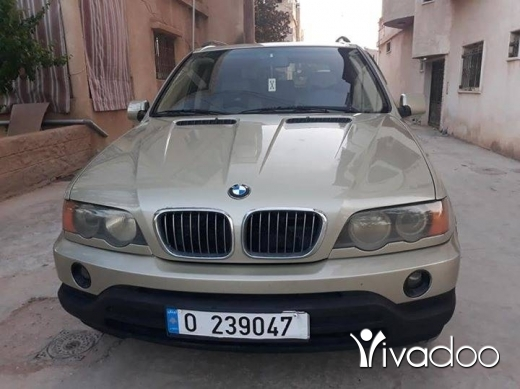 BMW in Baalback - جيب X5 موديل 2001 بعدو كيان 6 سيلندر