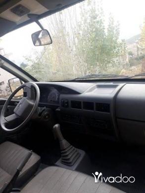 Vans in Tripoli - van Mitsubishi l