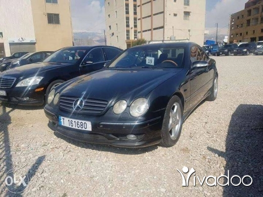 Mercedes-Benz in Chtaura - Mercedes Cl500 2002