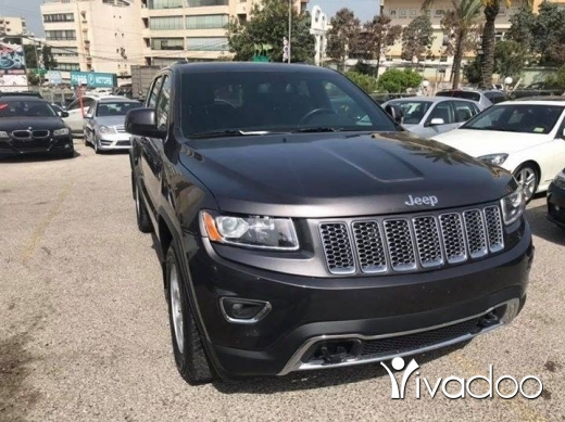 Jeep in Beirut City - Grand cherokee 2014