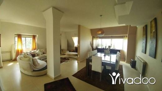 Apartments in Ballouneh - A 380 m2 duplex apartment having an open mountain view for sale in Ballouneh