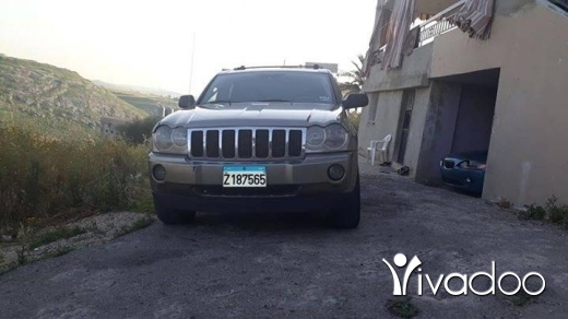 Jeep in Beirut City - غراند شاروكي ٢٠٠٥ (٦سلندر ) ٤×٤