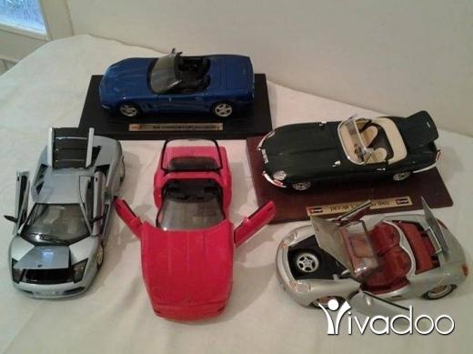 Baby Toys in Port of Beirut - مجموعه سيارات معدن قياس 1-18 للديكور