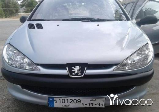 Peugeot in Jdeidet Marjeyoun - بيجو ٢٠٦ موديل ٢٠٠٤