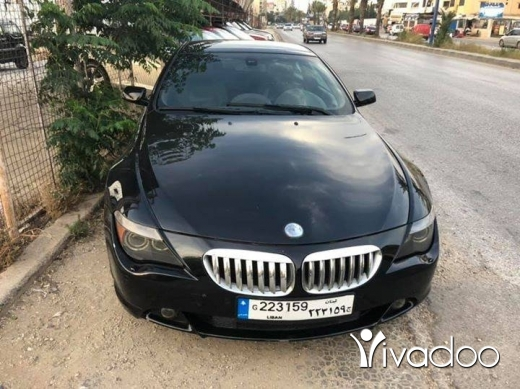 BMW in Tripoli - bmw 645 2005