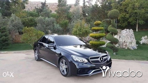 Mercedes-Benz in Beirut City - Mercedes-Benz E63///AMG