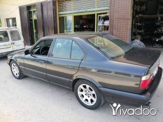 BMW in Sour - Bmw 525i 1994 Black Color