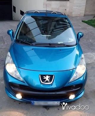 Peugeot in Tripoli - بيجو ٢٠٧ CC موديل ٢٠٠٩ اتوماتيك كلين كار