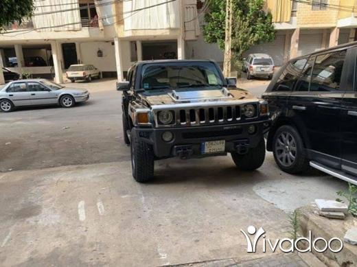 Hummer in Beirut City - hummer H3
