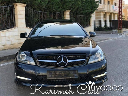 Mercedes-Benz in Tripoli - Mercedes C350  Coupe Model: 2012