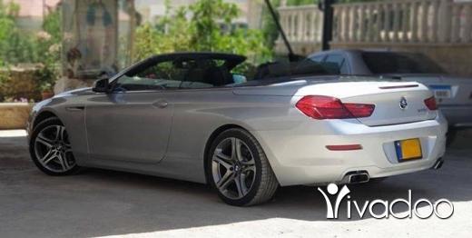 BMW in Beirut City - Bmw 650 i v8 twin turbo full options 5.0