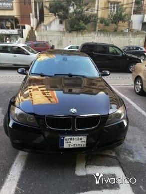 BMW in Hazmieh - bm 325i black black sport package