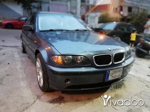 BMW in Beirut City - For sale BMW 325i model 2003 full option kter ndefi Ac 2fel markazi 4 dwaleb jded tell 71272317