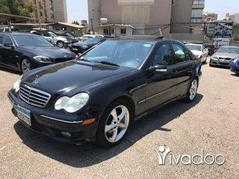 Mercedes-Benz in Port of Beirut - C230 2006
