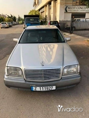 Mercedes-Benz in Hazmiyeh - Mercedes S300 1992