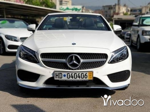 Mercedes-Benz in Port of Beirut - C180 Cabrio model 2017 AMG-Line