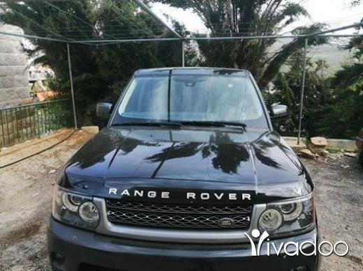 Rover in Tripoli - range rover