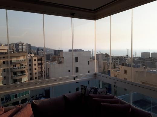 Apartments in Zouk Mikaël - زوق مكايل طابق خامس 160م منظر بحر مفروش ديكور شوفاخ