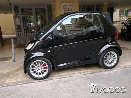 Smart in Beirut City - Brabus 2002
