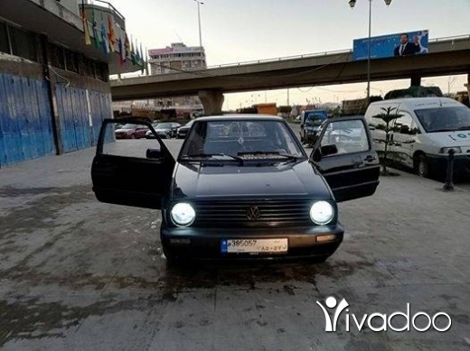 Volkswagen in Tripoli - golf 2